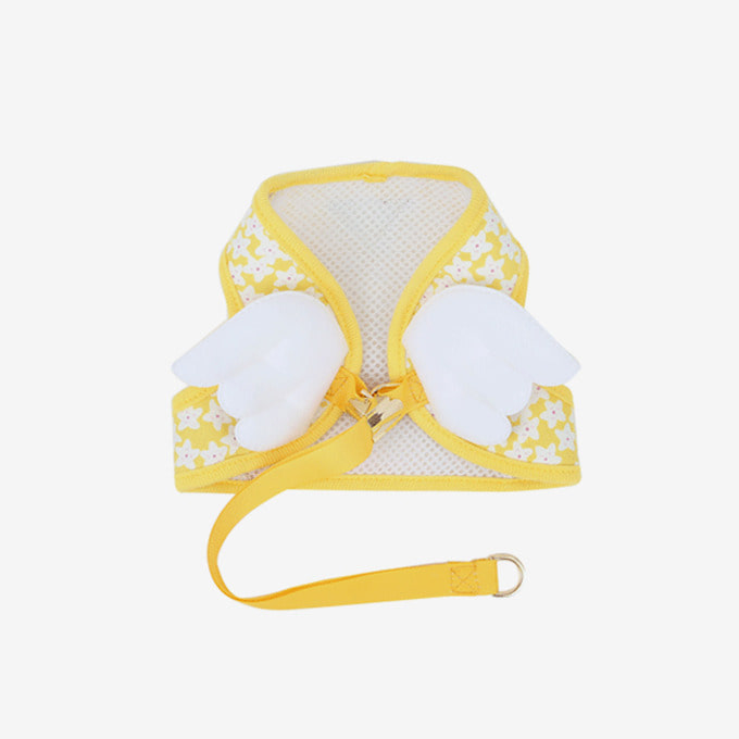 Blooming Angel Vest Harness (Yellow)