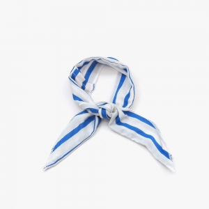 Wire Cooling Scarf (Bold Stripe Blue)