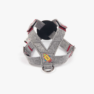 Felted Rocket Harness_Gray