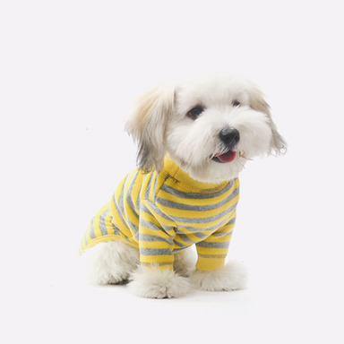 Cozy All-in-one (Stripe-Yellow)