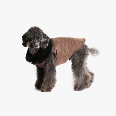 Furry Vest (Dark Chocolate)