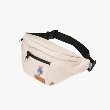 1992 Bear Waist Bag (Beige)