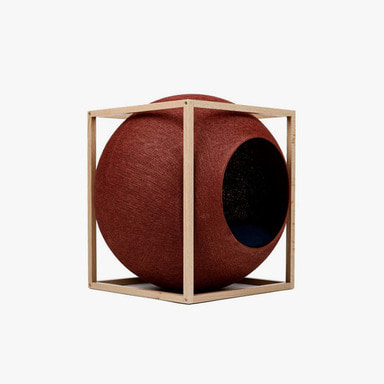 The Cube_Wood (Clay)