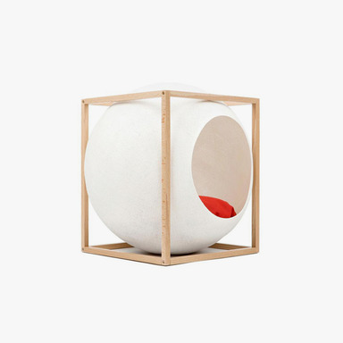 The Cube_Wood (Ivory)