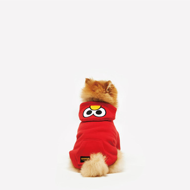 SST. Zip-up Hood (Elmo)