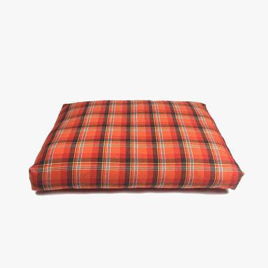 Relaxing Cushion (Orange Check)
