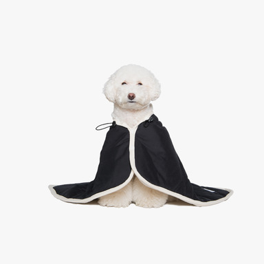 Padded Cape Blanket (Black)