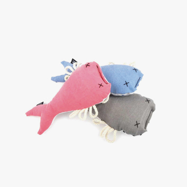 Flat Fish Toy (3color)
