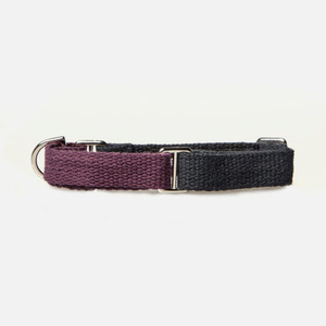 Color Block Collar (Purple-Navy)