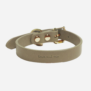 CANE COLLAR BEIGE GREY