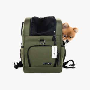 심플리펫 트래블백팩 The Travel Backpack_LG (Olive Khaki)