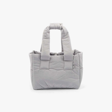 Padded Shoulder Bag (Gray)