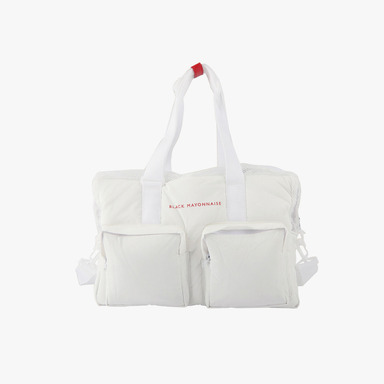 블랙마요네즈 The Light Down Bag (White)